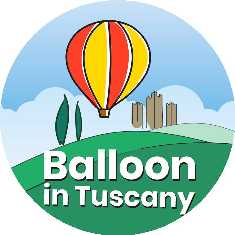 Balloon in Tuscany